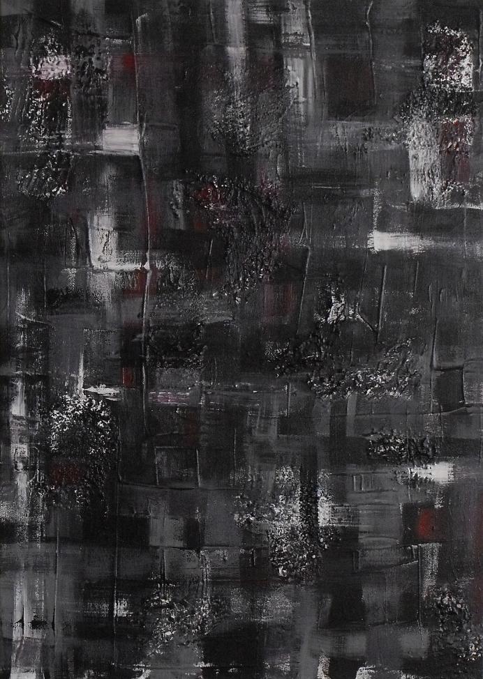 """""""Tandem"""", 50/60 cm, 2011"""