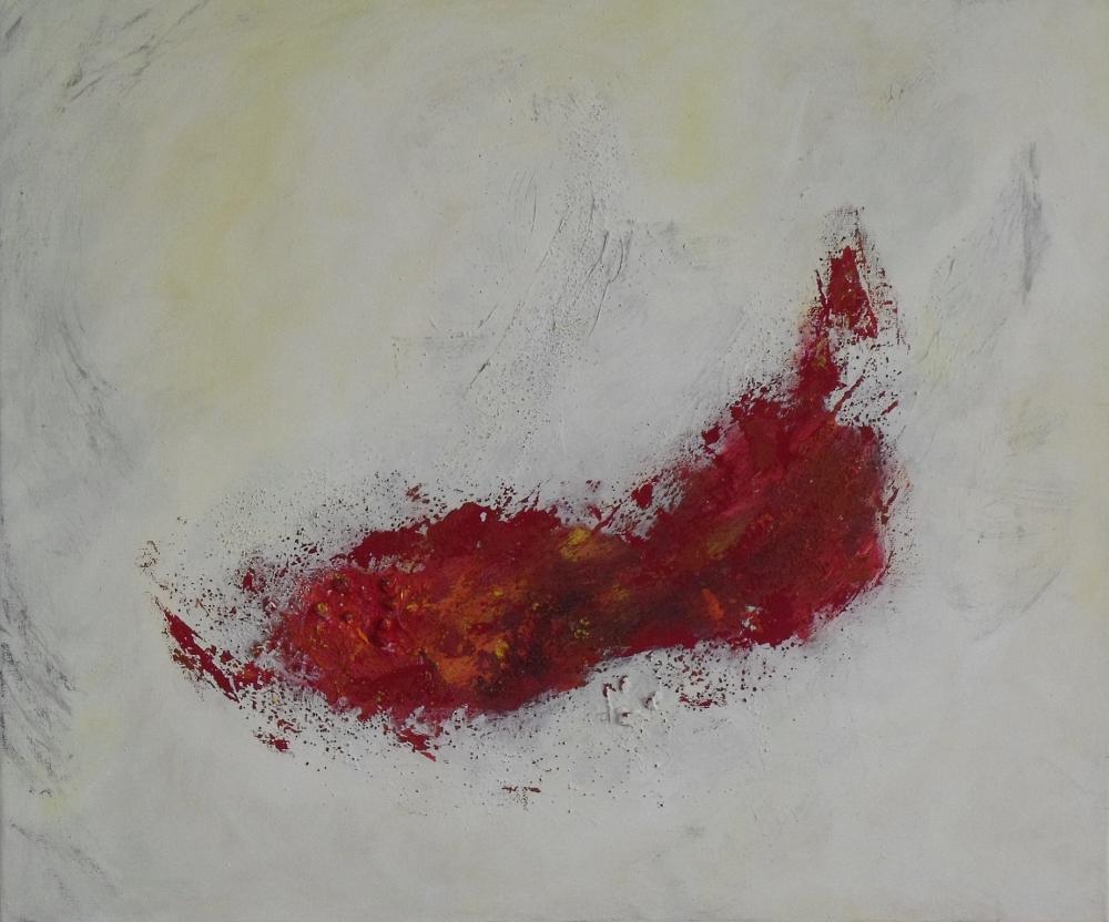 """Tanzende Flamme"", 50/60 cm, 2011"