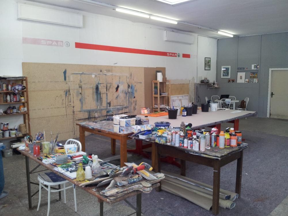 Arbeitsplatz Atelier Conny