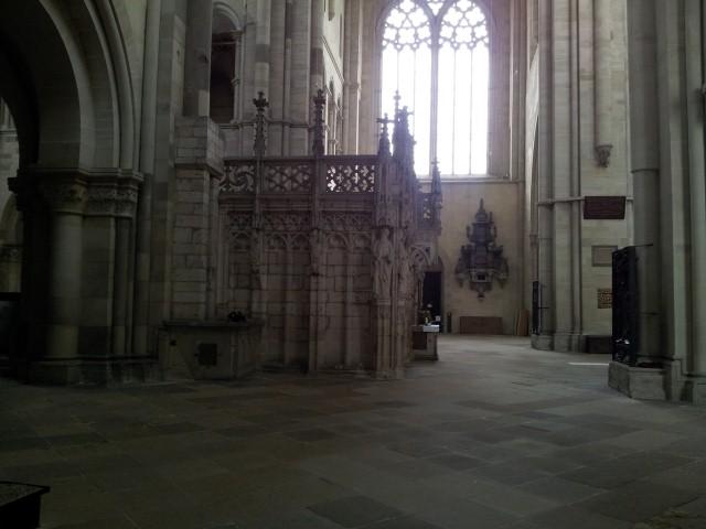 Der Eingang zum Innersten - von der Seite