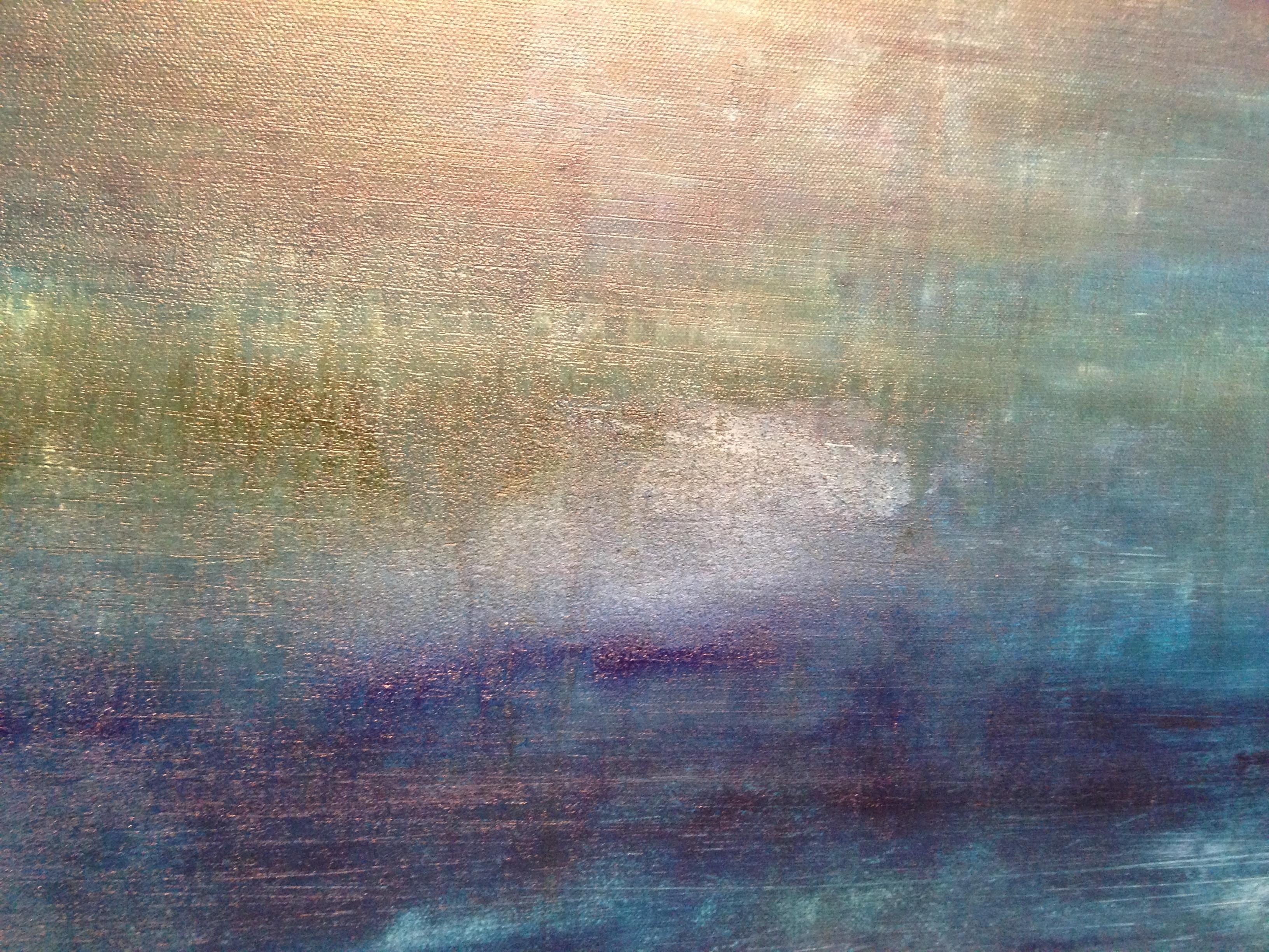 Himmel und Felder (80/80 cm)