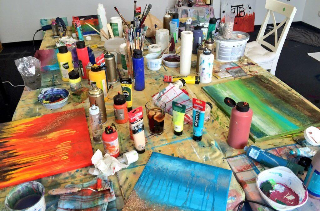 Der erste Kreativ-Workshop, juchu!